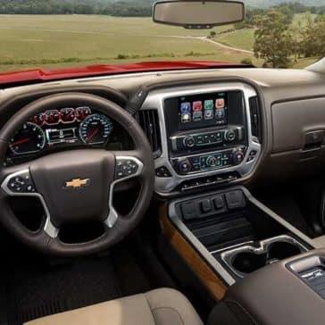 2018 Chevy Silverado 1500 interior dashboard