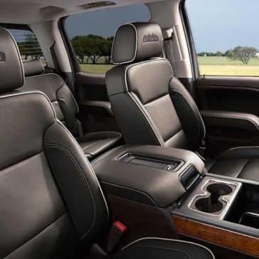 2018 Chevy Silverado 1500 interior cabin