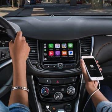 2018 Chevrolet Trax interior cabin
