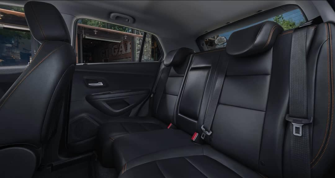 2018 Chevrolet Trax rear seating