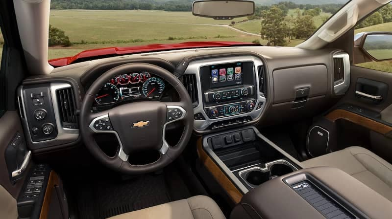 2018 Chevrolet Silverado 1500 Interior Dashboard