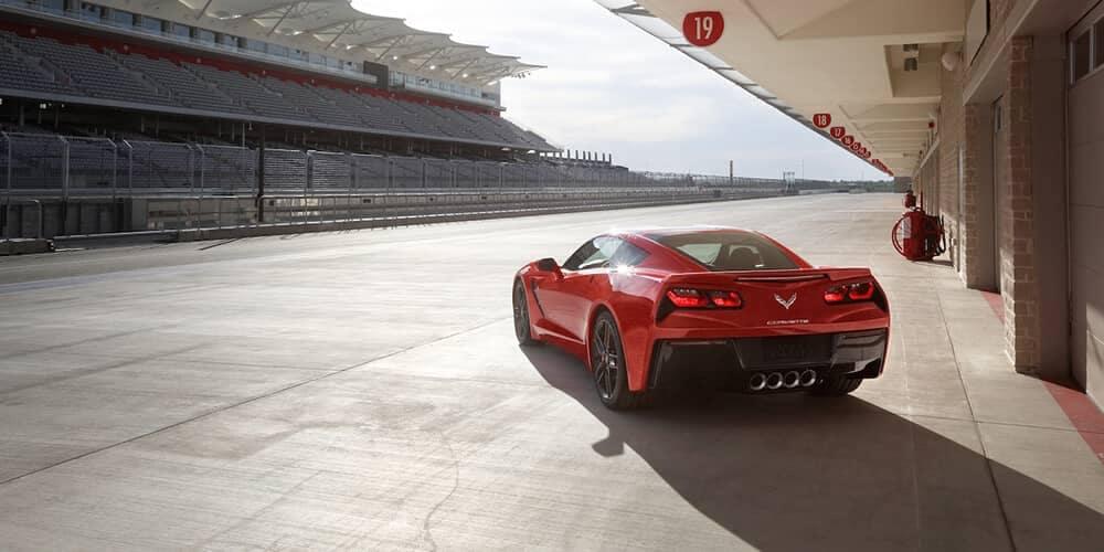 2018 Chevrolet Corvette Stingray rear