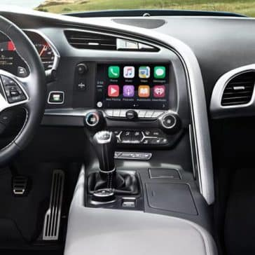 2018 Chevrolet Corvette Stingray dashboard