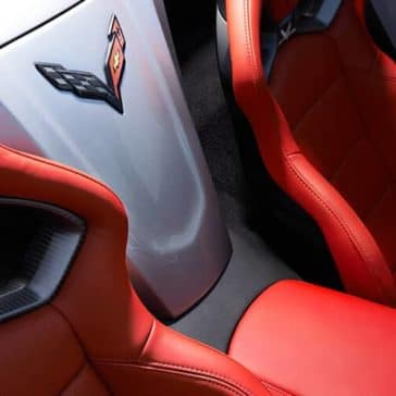 2018 Chevrolet Corvette Stingray seats