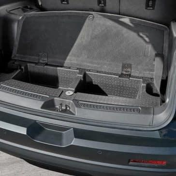 2018 GMC Acadia interior extra cargo hold