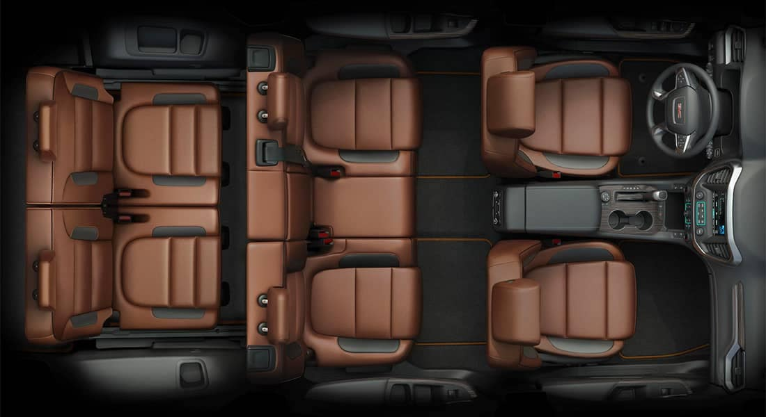 2018 GMC Acadia interior seating