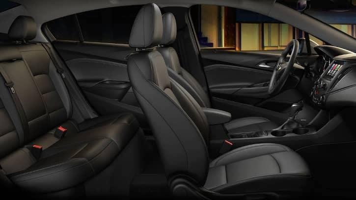 2018 Chevy Cruze interior space