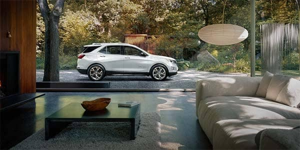 2018 Chevrolet Equinox parked outside home