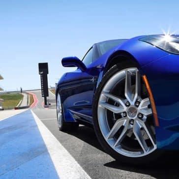 2019 Chevrolet Corvette Stingray on track
