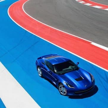 2019 Chevrolet Corvette Stingray on track