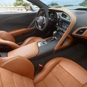 2019 Chevrolet Corvette Stingray interior