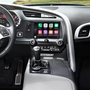 2019 Chevrolet Corvette Stingray dashboard