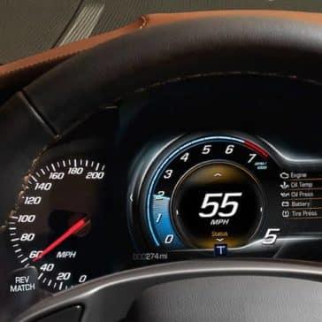 2019 Chevrolet Corvette Stingray guage