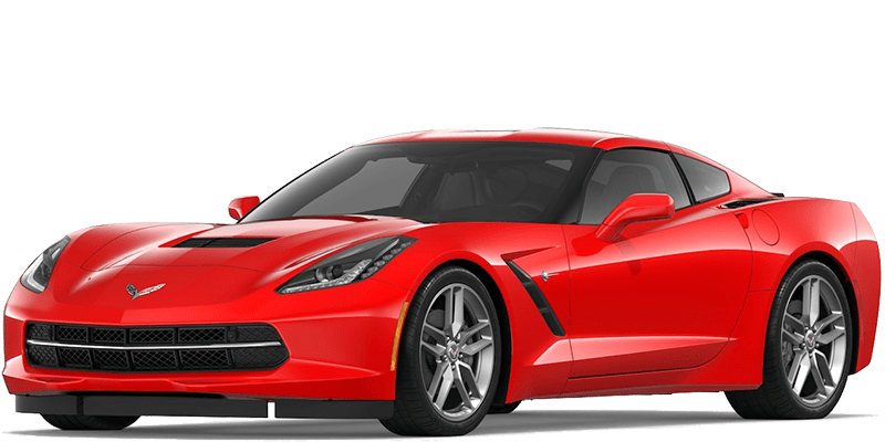 2019 Chevy Corvette Stingray Red