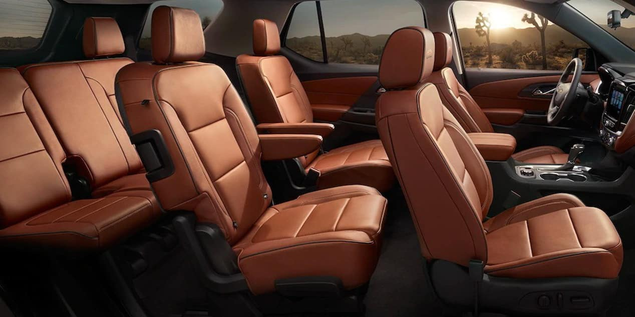 seating for 8 in 2019 Chevrolet Traverse