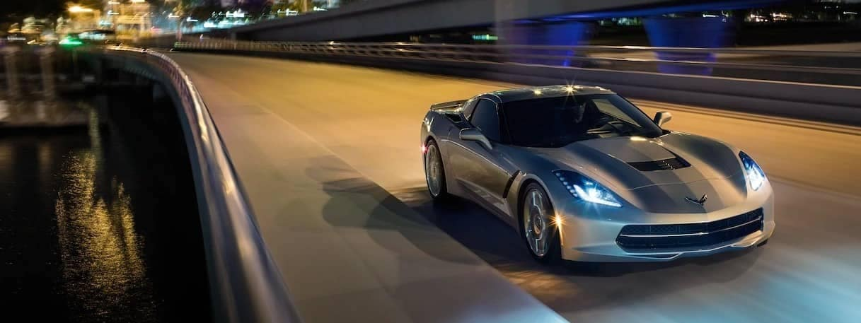 2019 Chevrolet Corvette Stingray on highway