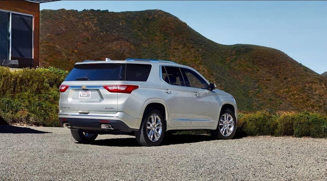 rear exterior of 2019 Chevrolet Traverse