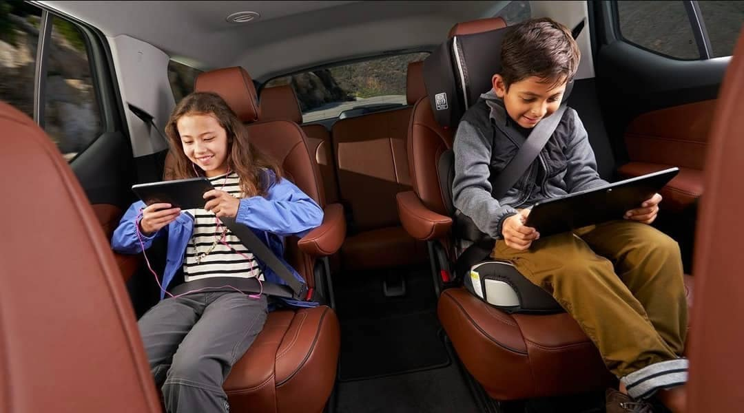 rear seating in 2019 Chevrolet Traverse