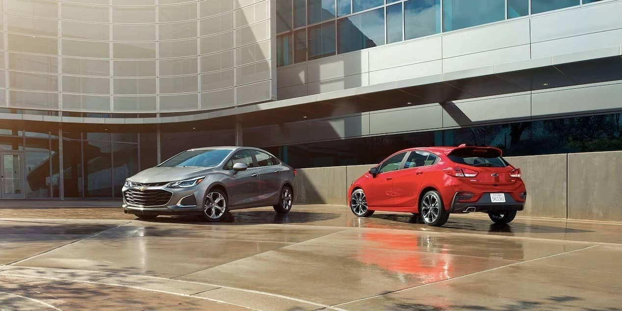 2019 Chevrolet Cruze Sedan and Hatch