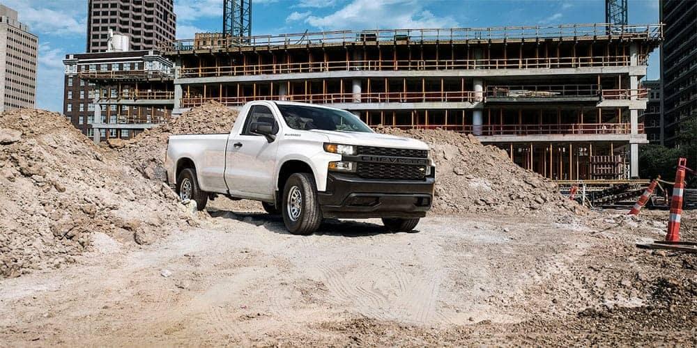 2019 Chevrolet Silverado 1500 Exterior on construction site