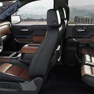 2019 Chevrolet Silverado 1500 interior seating