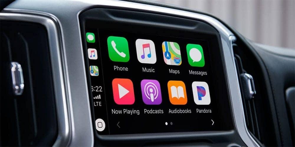 2019 Chevrolet Silverado 1500 Interior infotainment