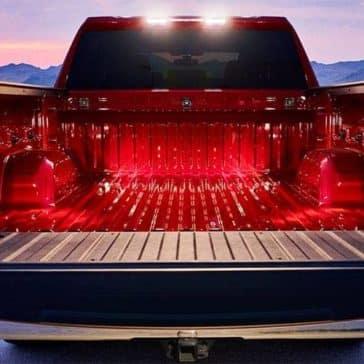 2019 Chevrolet Silverado 1500 truckbed detail