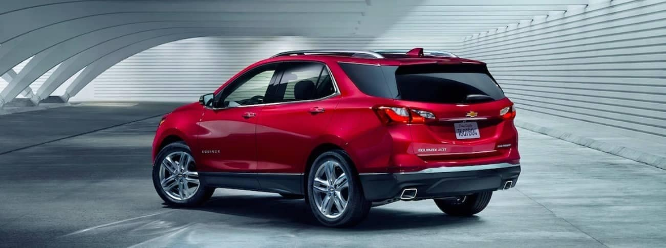 Cajun Red 2019 Chevrolet Equinox rear exterior