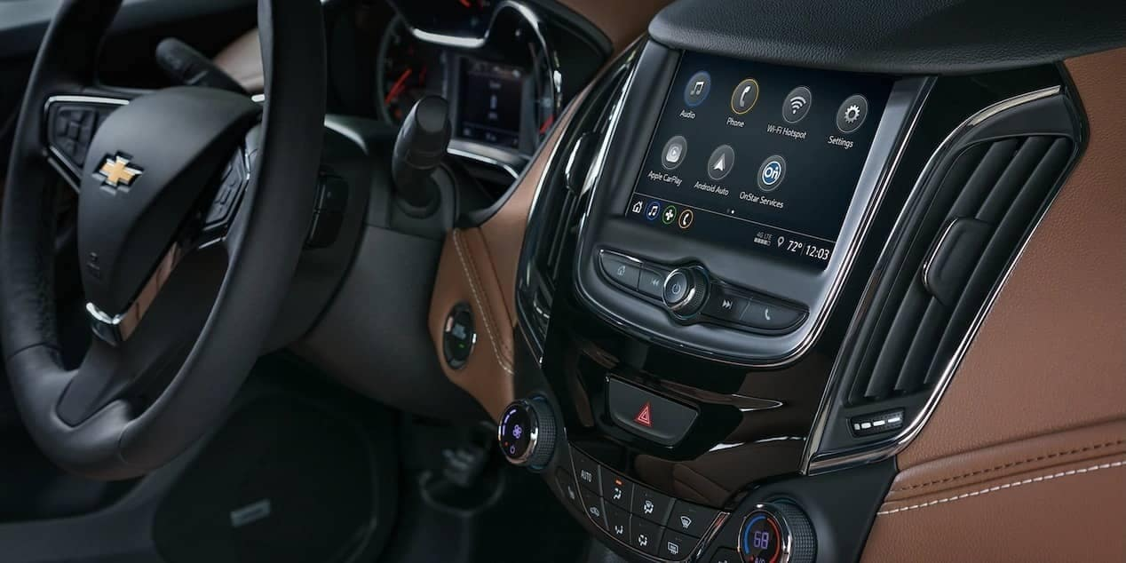 infotainment in 2019 Chevrolet Cruze
