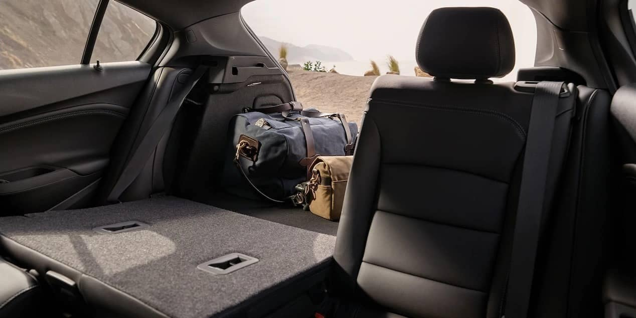 rear folding seats in 2019 Chevrolet Cruze