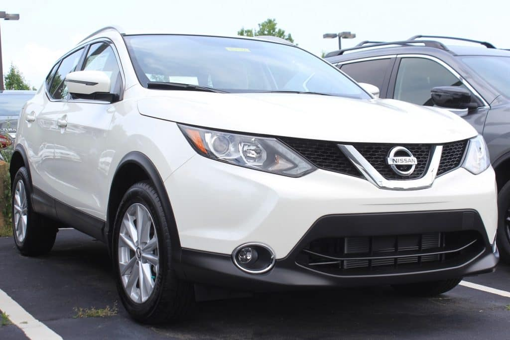 New 2018 Nissan Rogue in White at Sheridan Nissan in New Castle, DE