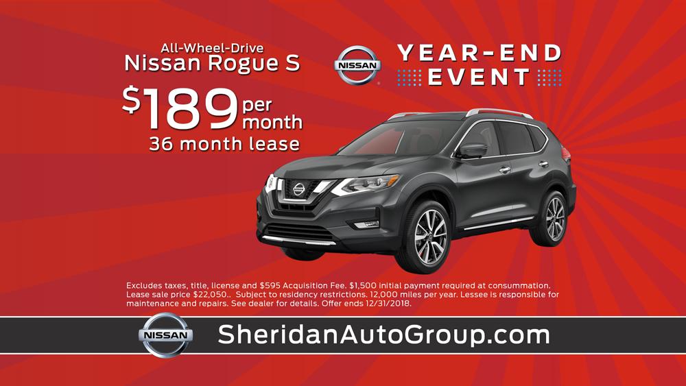 Sheridan Nissan December Sales Event