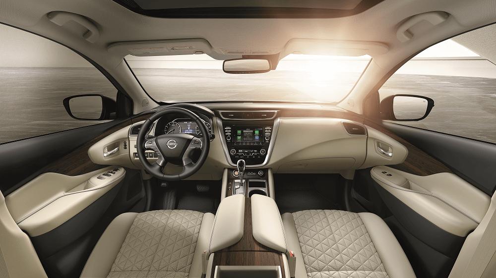 2020 Nissan Murano Interior Dimensions