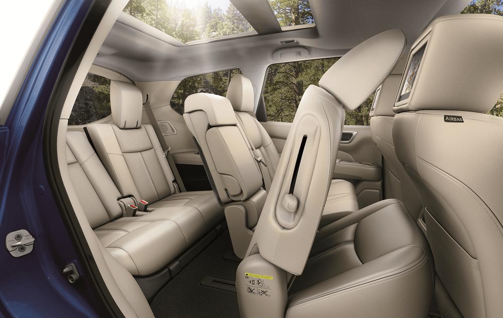 2020 Nissan Pathfinder Interior Dimensions