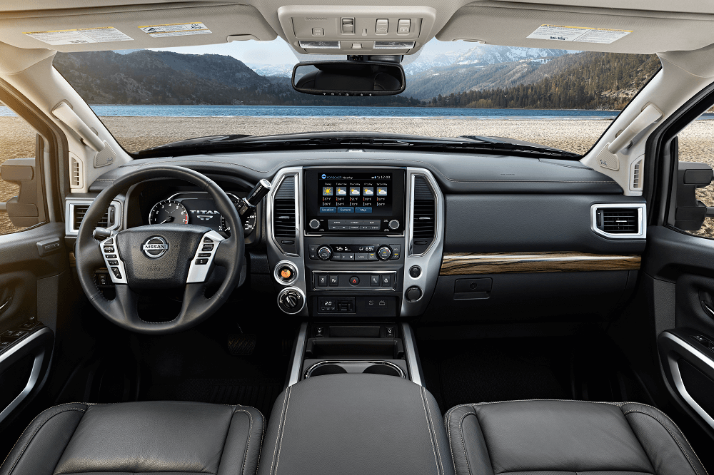 2020 Nissan TITAN Technology