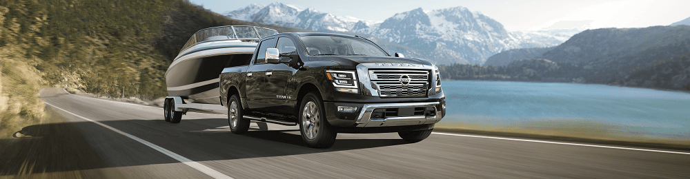 2020 Nissan TITAN Towing