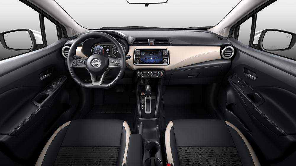 Nissan Sentra vs Versa Interior