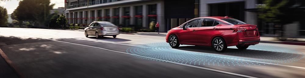 Nissan Sentra vs Versa Safety Technology