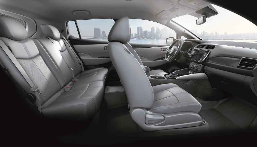 2020 Nissan LEAF Interior Dimensions