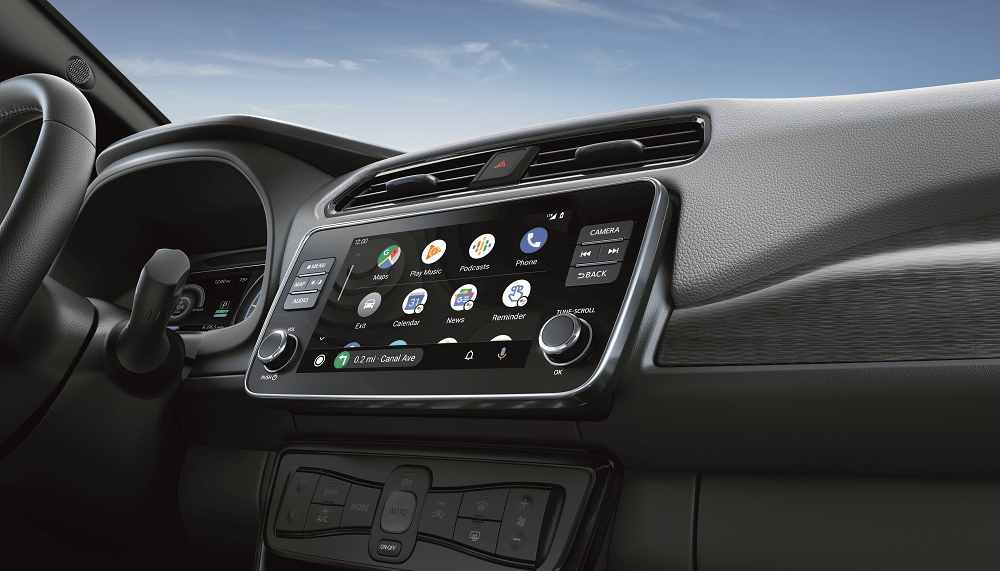 Nissan LEAF Reviews Technology Features