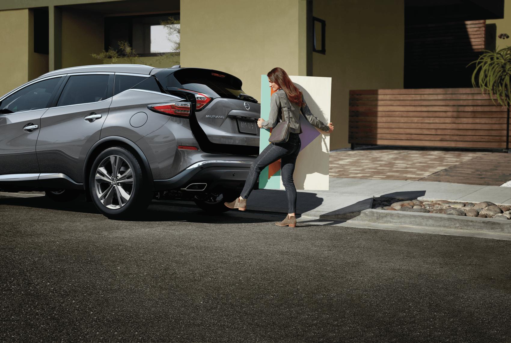 2021 Nissan Murano Gray Motion Activated Liftgate Sheridan Nissan