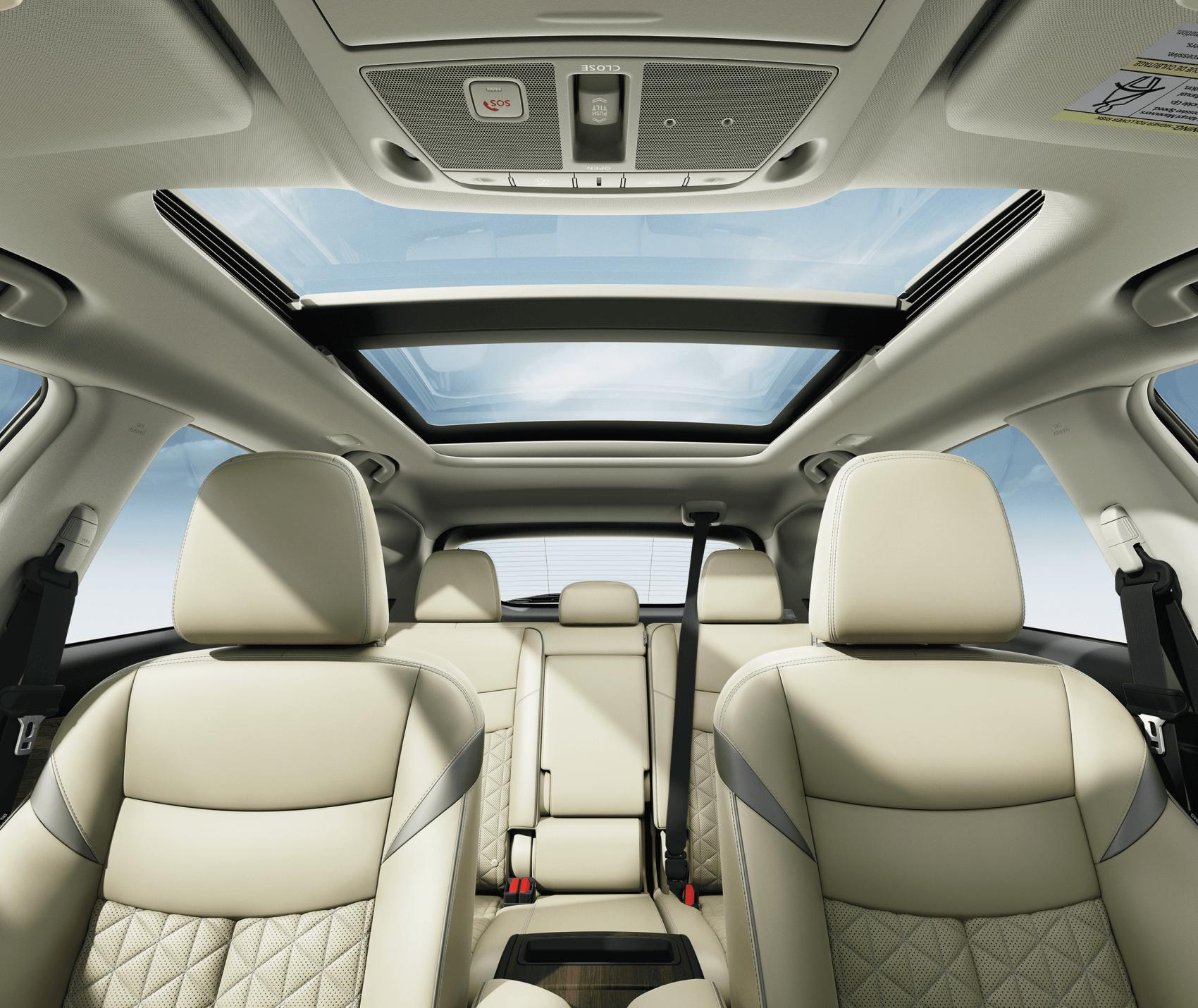 2021 Nissan Murano Interior Cabin Space Sheridan Nissan