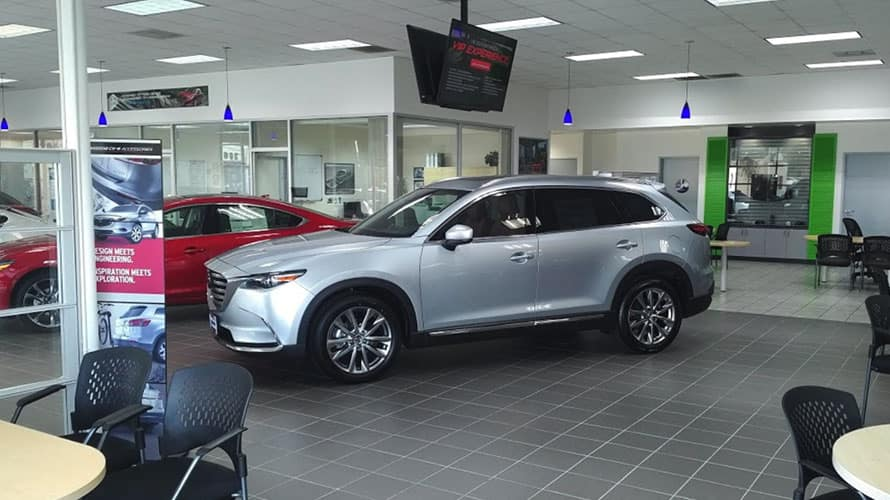 South Bay Mazda Showroom