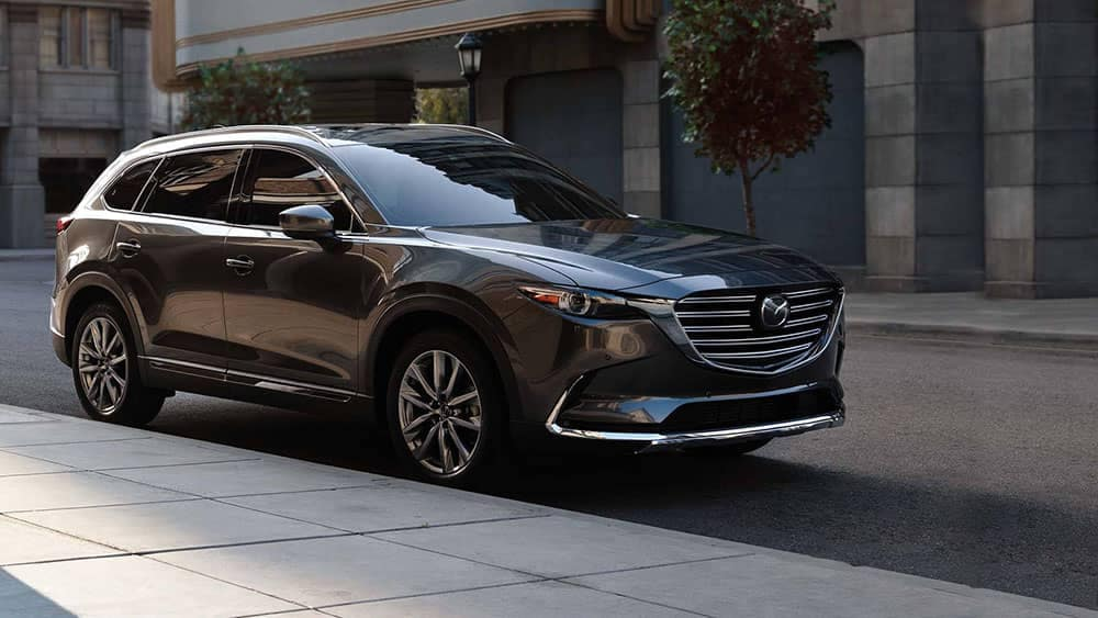 2019 Mazda CX-9 in the city