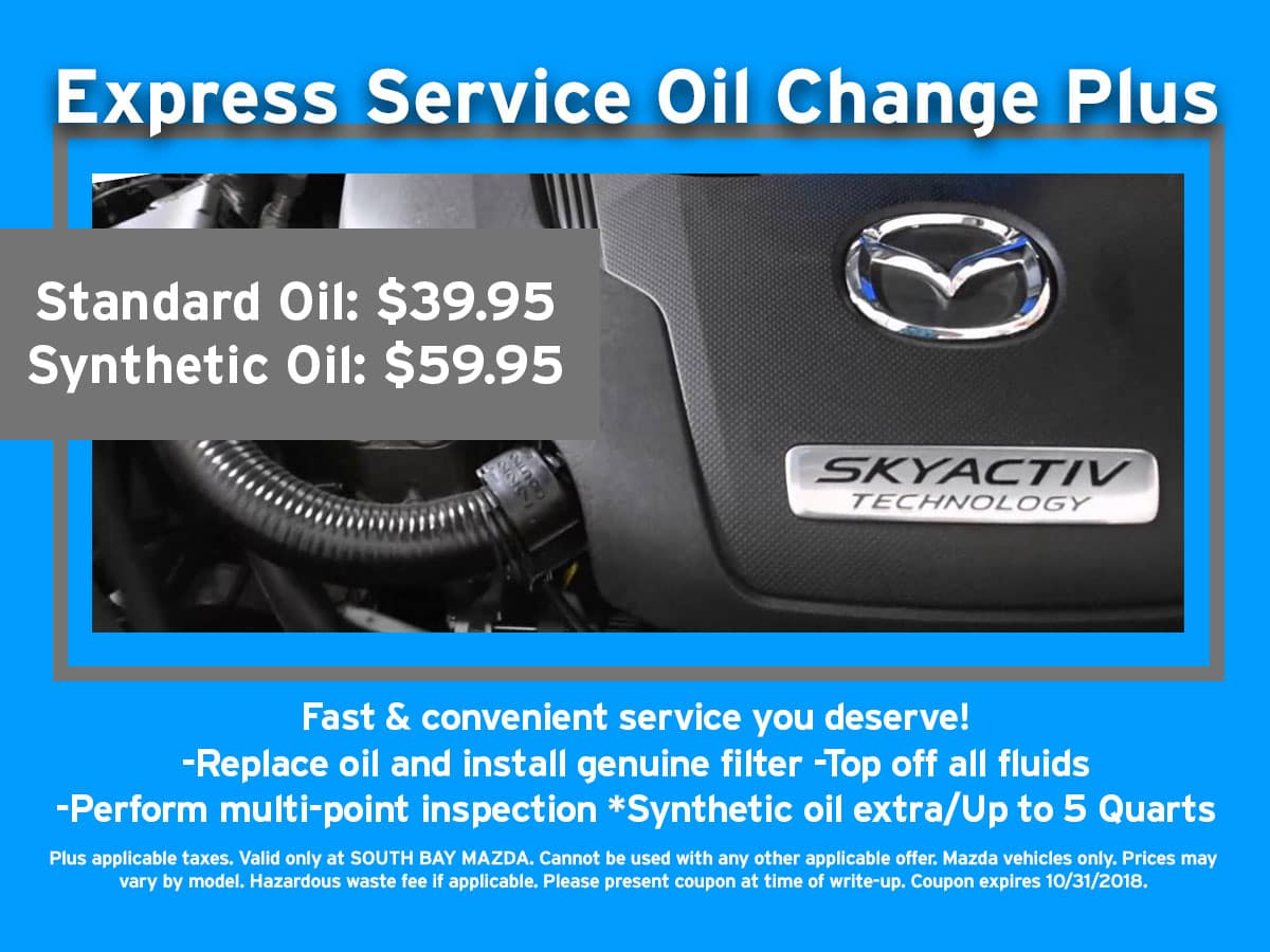 Awesome Mazda Express Oil Change Coupon