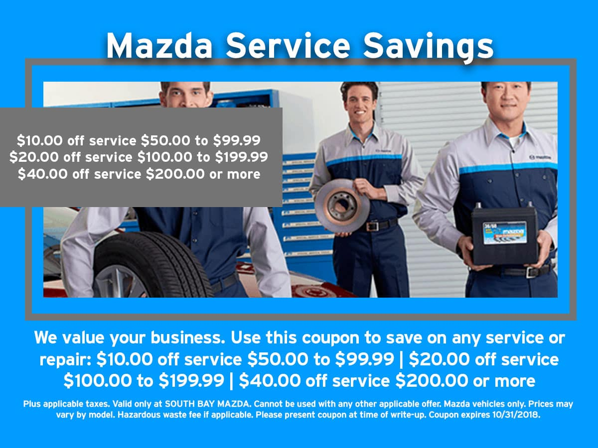 Mazda Wildcard Savings Coupon