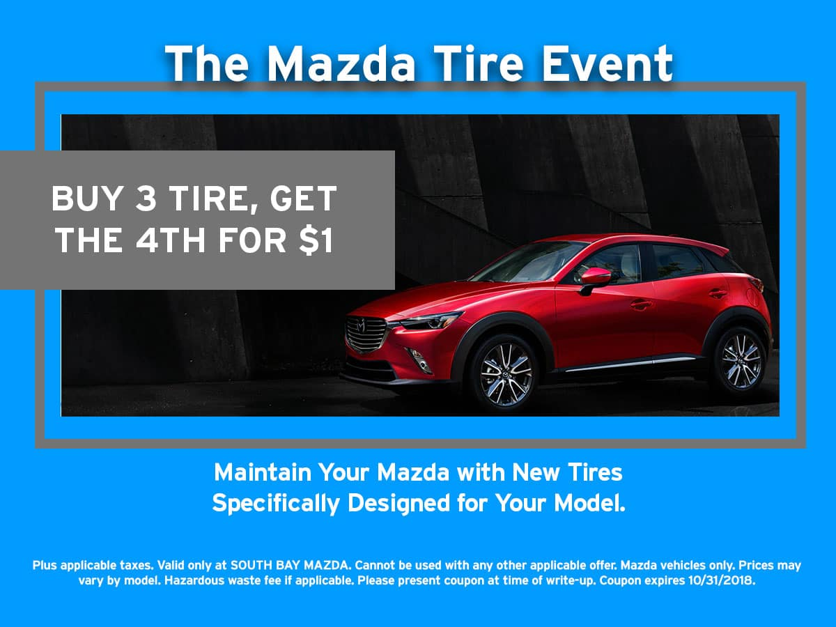 Mazda Tire Event Coupon