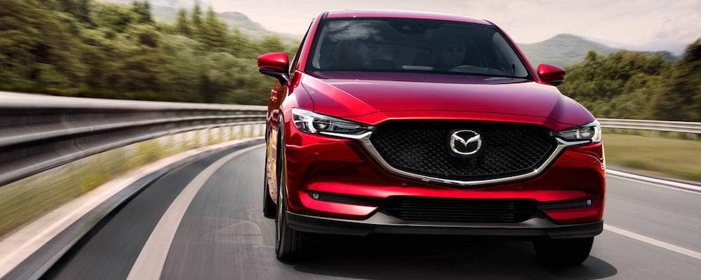 2019 Mazda CX-5 Grand Touring Reserve in red