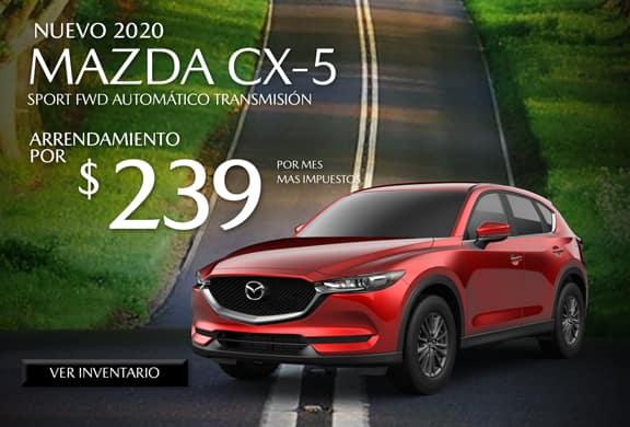 2020 Mazda CX-5 FWD Sport AUTOMÁTICO