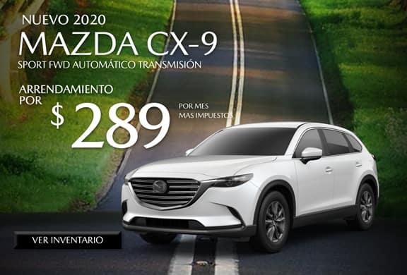 2020 Mazda CX-9 FWD Sport AUTOMÁTICO